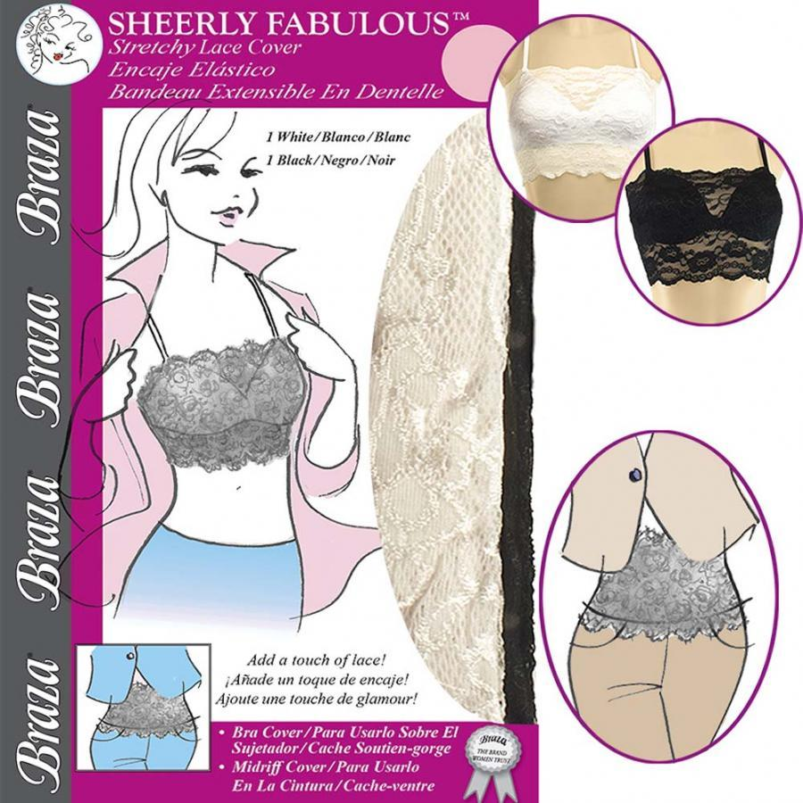 SHEERLY FABULOUS ™ - CAMISOLE BRA COVER