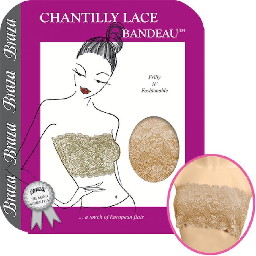 CHANTILLY LACE BANDEAU ™