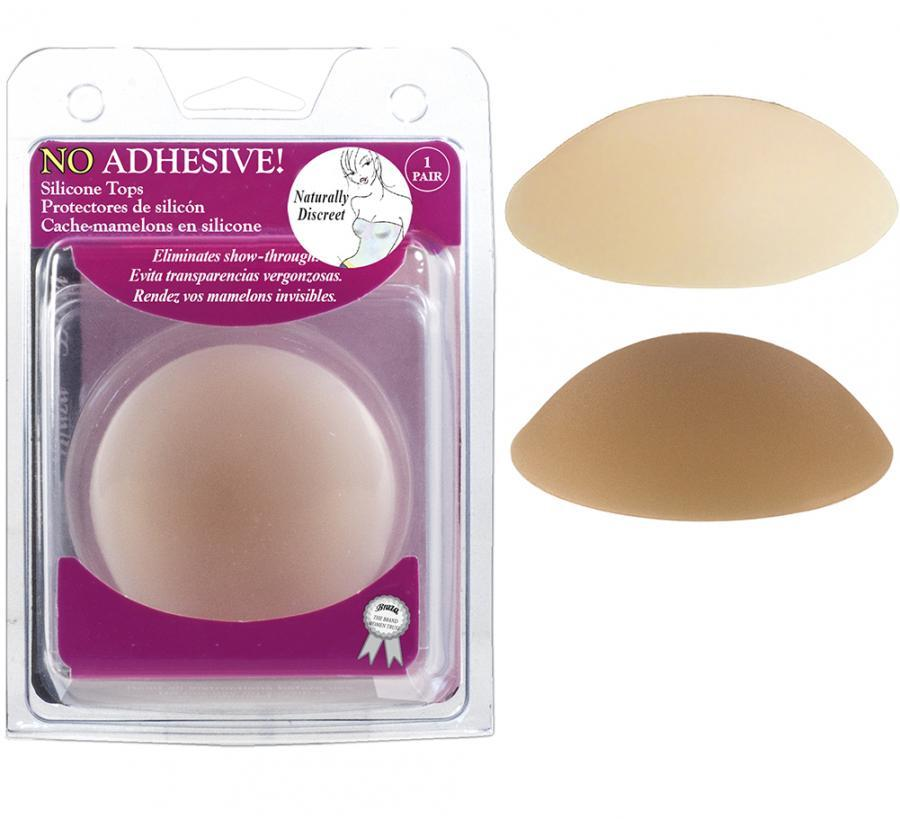 NO ADHESIVE SILICONE TOPS - REUSABLE NIPPLE COVERS