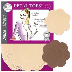 PETAL TOPS® - DISPOSABLE NIPPLE COVERS - 5 PAIR PACKAGE