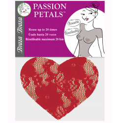 PASSION PETALS™ - HEART SHAPE LACE NIPPLE COVERS