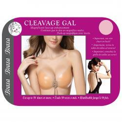CLEAVAGE GAL - SILICONE LACE UP BRA