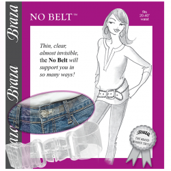 NO BELT™ - CLEAR, INVISIBLE AND ADJUSTABLE BELT FOR PANTS