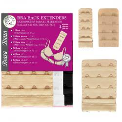 BRA BAND EXTENDERS - 3 PIECE PACKAGE