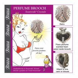 CLEAVAGE/PERFUME BROOCH - RETRO