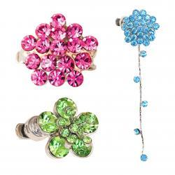 STRAP BLING - FLOWERS & CLUSTERS