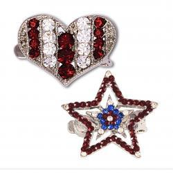 STRAP BLING - HEARTS & STARS