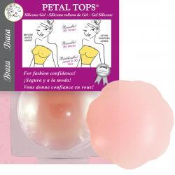 SILICONE GEL PETALS® NIPPLE COVERS - PINK ON SALE