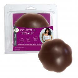 CONTOUR PETALS COCOA NIPPLE COVERS